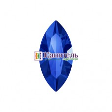 XILION Navette SWAROVSKI 10х5mm Majestic Blue /4228/