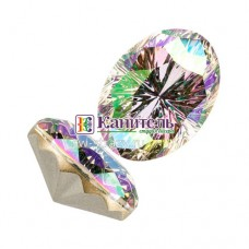 Mystic Oval Fancy Stone SWAROVSKI 14x10mm Crystal Paradise Shine /4160/