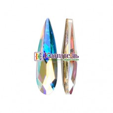 Raindrop Fancy Stone SWAROVSKI 15mm Crystal AB /4331/