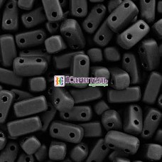 Bricks 3x6мм Matte Jet /14/