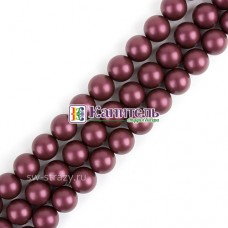 Crystal Round Pearl SWAROVSKI 5mm Elderberry /5810/