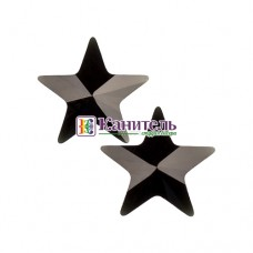 Rivoli Star Fancy Stones SWAROVSKI 5mm Jet /4745/