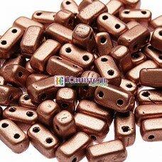 Bricks 3x6мм Matte - Metallic Flax /3/
