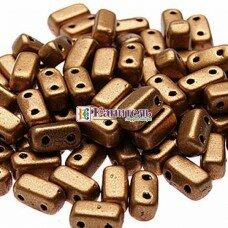 Bricks 3x6мм Matte - Metallic Flax /4/