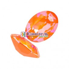 Fancy Stones SWAROVSKI 14x10mm Crystal Orange Glow Delite /4120/