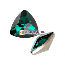 Kaleidoscope Triangle Fancy Stone SWAROVSKI 14x14,3mm Emerald /4799/