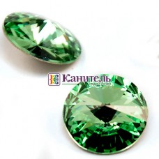 Rivoli SWAROVSKI 14mm Crystal Royal Green /1122/