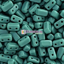 Bricks 3x6мм Persian Turquoise /15/