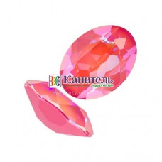 Fancy Stones SWAROVSKI 14x10mm Crystal Lotus Pink DeLite /4120/