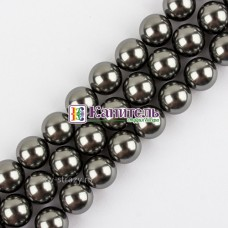 Crystal Round Pearl SWAROVSKI 2mm Dark Grey /5810/