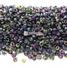 MIYUKI Round Czech Coating 11/0 #55015 Crystal Magic Purple