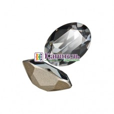 Fancy Stones SWAROVSKI 18x13mm Crystal Silver Night /4120/