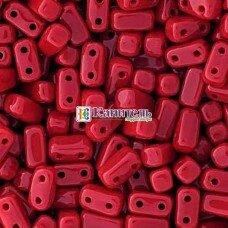 Bricks 3x6мм Opaque Red /17/