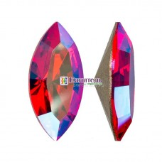 XILION Navette SWAROVSKI 10х5mm Light Siam Shimmer /4228/