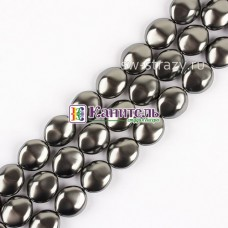 Crystal Pearl SWAROVSKI 14mm Dark Grey /5842/